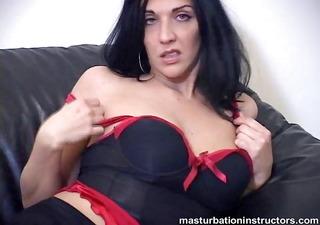jerk off teacher puts her gigantic tits on