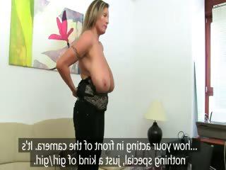 mature woman fucking on leather bigbed