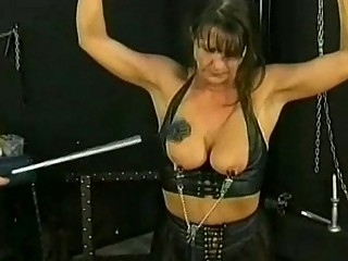 bdsm session with hawt aged slave part 1