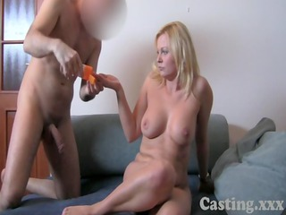 casting hd clueless milf does anal