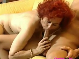 german redhead aged housewife