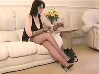 nylon granny in ffstockings aged aged porn granny