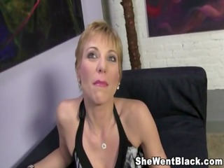 mature cougar gemma more rough fucks a black