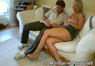 british blonde milf is pounded hard