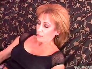 mature unshaved cunt gets fucked by darksome rod
