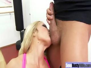 hawt hot large tits lascivious milf get hardcore