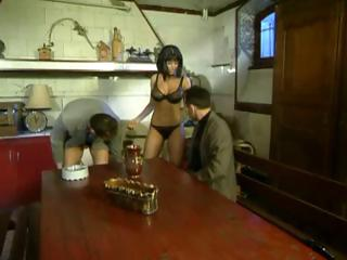 french mom drilled in the kitchen