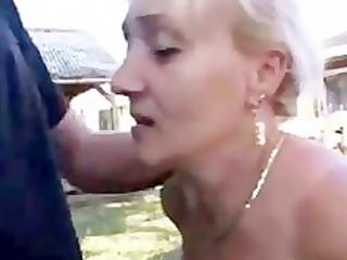 german mature with great fellatio skills acquires