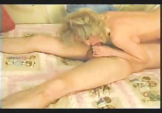 blonde granny receives it is in the arse