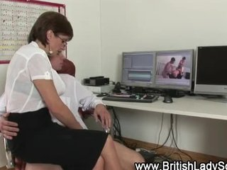 mature whore sucks younger cock