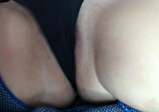 masturbation with panties on