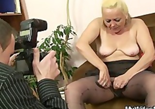 she is finds naughty photos with him and her mom