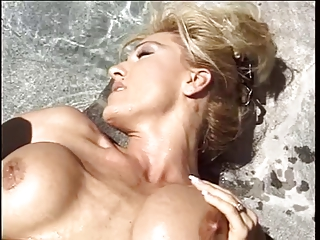 tall blond wife with astounding tits gets her