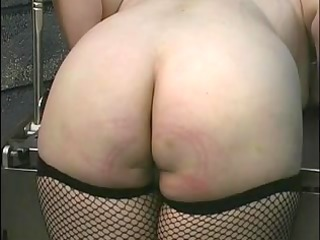 older big beautiful woman golden-haired receives