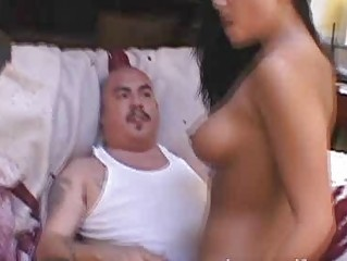 cuckold wife copulates one more man to shame her