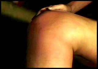 blindfolded bent over and spanked