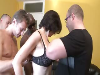 a gangbang for elo a french milf