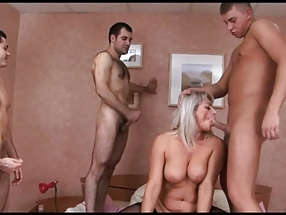 russian mature group-sex