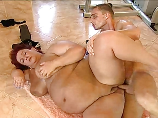 bbw german granny is hungry for rod